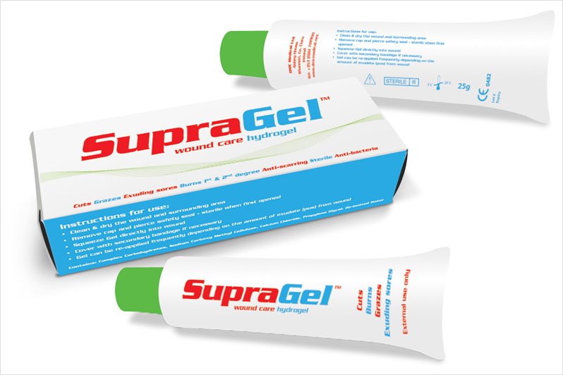 SupraGel Wound Care Hydrogel